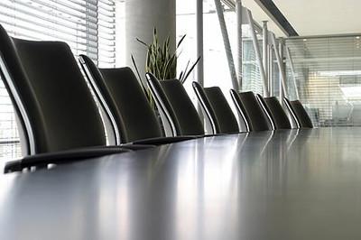 Corporate Finance Boardroom Image, Webb & Co.
