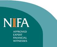 NIFA Logo Webb and Co Belfast London Logo Forensic Accountants Accountancy