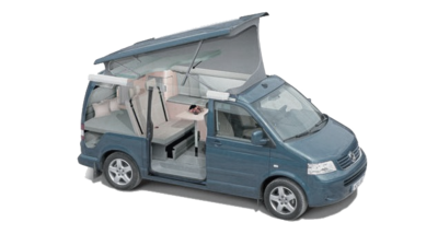 Volkswagen California Layout