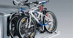 Extras - North Devon Camper Hire - Bike Rack