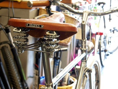 Brooks Seat - Exeter Cycles