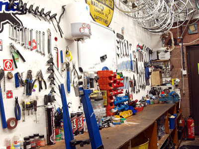 Workshop - Exeter Cycles