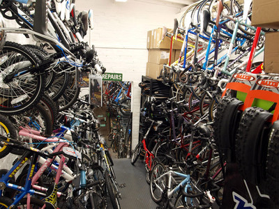 Waiting Repairs - Exeter Cycles