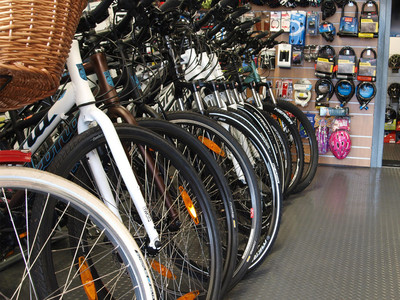 The Showroom - Exeter Cycles