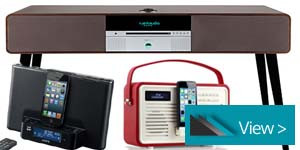 Hi-Fi and Speaker Docks