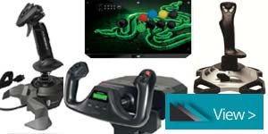 JOYSTICKS & FLIGHT CONTROLLERS