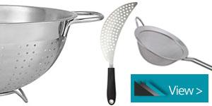 Kitchen Colanders, Sieves & Strainers