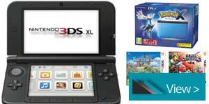 NINTENDO 3DS Console, 2DS Console