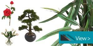 Artificial Flowers & Plants