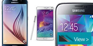 SAMSUNG GALAXY MOBILE PHONE RANGE