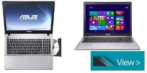 ASUS Laptop Range