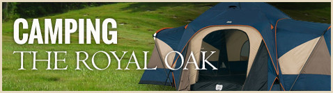 Camping at The Royal Oak