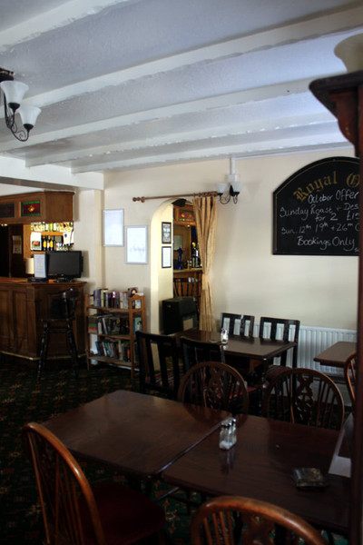 The Royal Oak - Seating