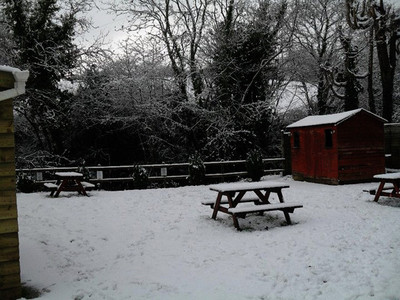 The Royal Oak InThe Snow