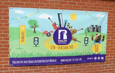 Raglan Festival 2015 Banners