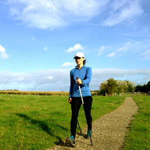 Rebecca Paylor Nordic Walking