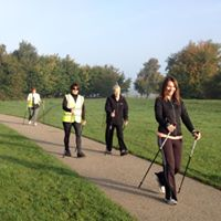 Nordic Walking on racecourse york