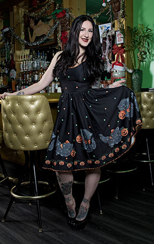 Sourpuss - Feline Spooky Sweets Dress