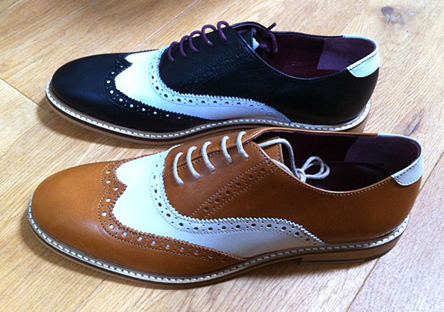 Brown and Black shoe colour options