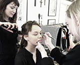 Make-up artists at LondonEdge 2016