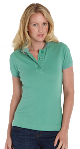 Female Polo | Corporate Uniform | TSI Apparel | Uniforms Manufacturing in UAE