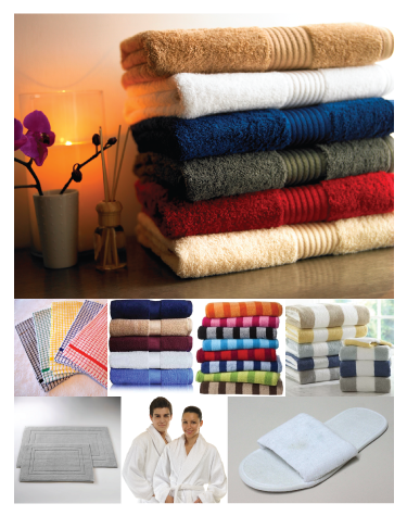 Bath Towels, Kitchen Towels, Bath Mats, Bath Slippers, Bath Robes, Hand Towels | Bed & Bath Linen | TSI Apparel