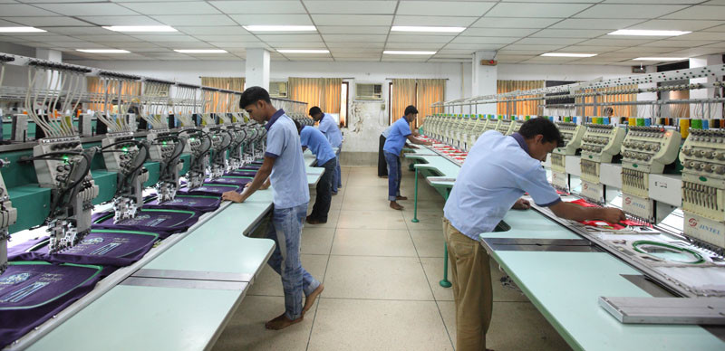 Embroidery Facilities