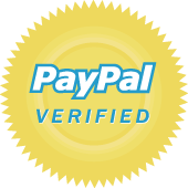 PayPal verified gold emblem