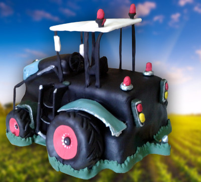 Tractor Cake - MAD Cakes Exeter
