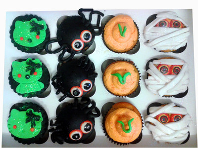 Spooky Cupcakes - MAD Cakes Exeter
