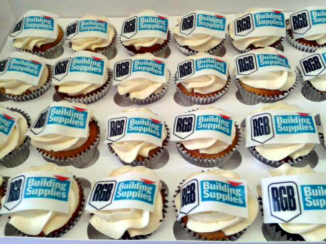 RGB Building Supplies - Corporate Cakes - MAD Cakes Exeter