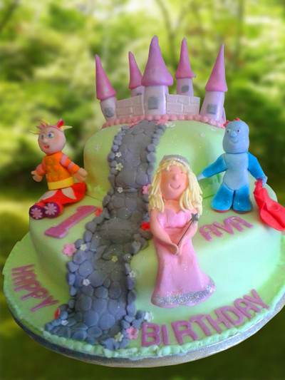 In The Night Garden Cake - MAD Cakes Exeter
