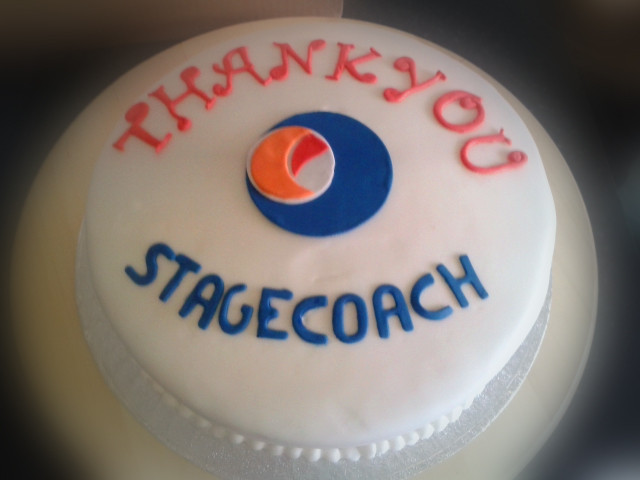 Stagecoach - Corporate Cakes - MAD Cakes Exeter