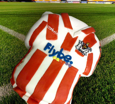 Exeter City Shirt - Happy Birthday- Mad Cakes Exeter