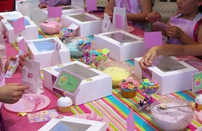 Cupcake Party Workshop - Mad Cakes Exeter