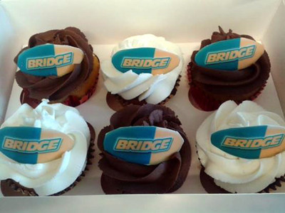 Bridge Motor Cycles - Corporate Cakes - MAD Cakes Exeter