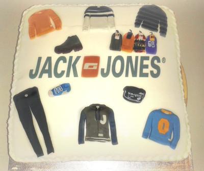 Jack Jones - Corporate Cakes - MAD Cakes Exeter