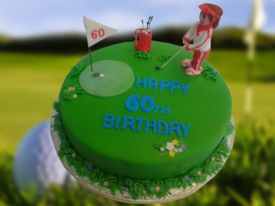 Golf Cake - MAD Cakes Exeter