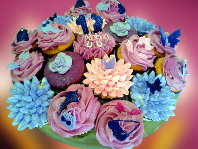 13th Birthday Cupcakes - MAD Cakes Exeter