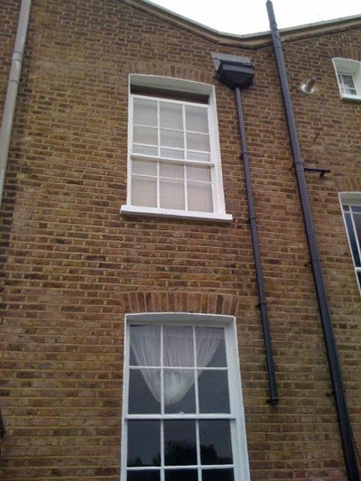 Re pointed this house in Greenwich.