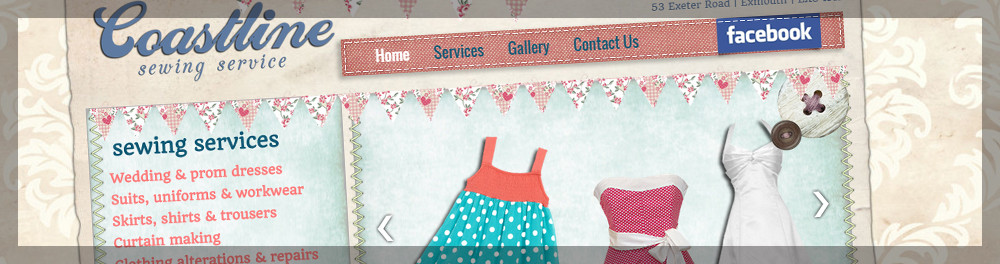 Coastline Sewing Services - By GFIVEDESIGN