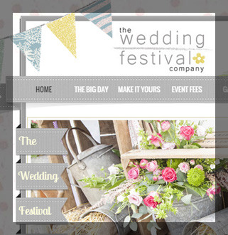 The Wedding Festival Company -  By GFIVEDESIGN