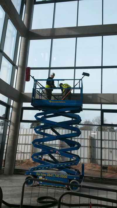 Combat Cleaning - Scissor Lift
