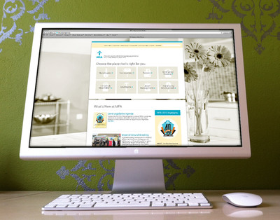 MFA Housing New Mexico Website design in ExpressionEngine