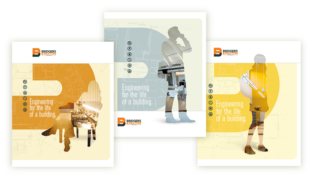 Bridgers & Paxton Engineering Branding Concept