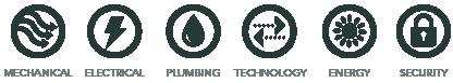 Bridgers & Paxton MEP service icon design