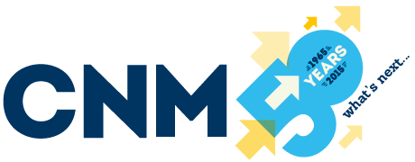 CNM 50th anniversary logo design