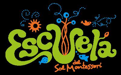 Escuela del Sol Montessori school logo design