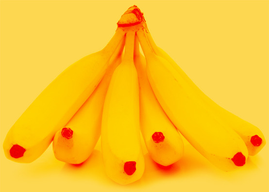 Ripe Inc. Lovely bunch of beautiful bananas