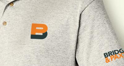 Bridgers & Paxton MEP Engineers branded shirt